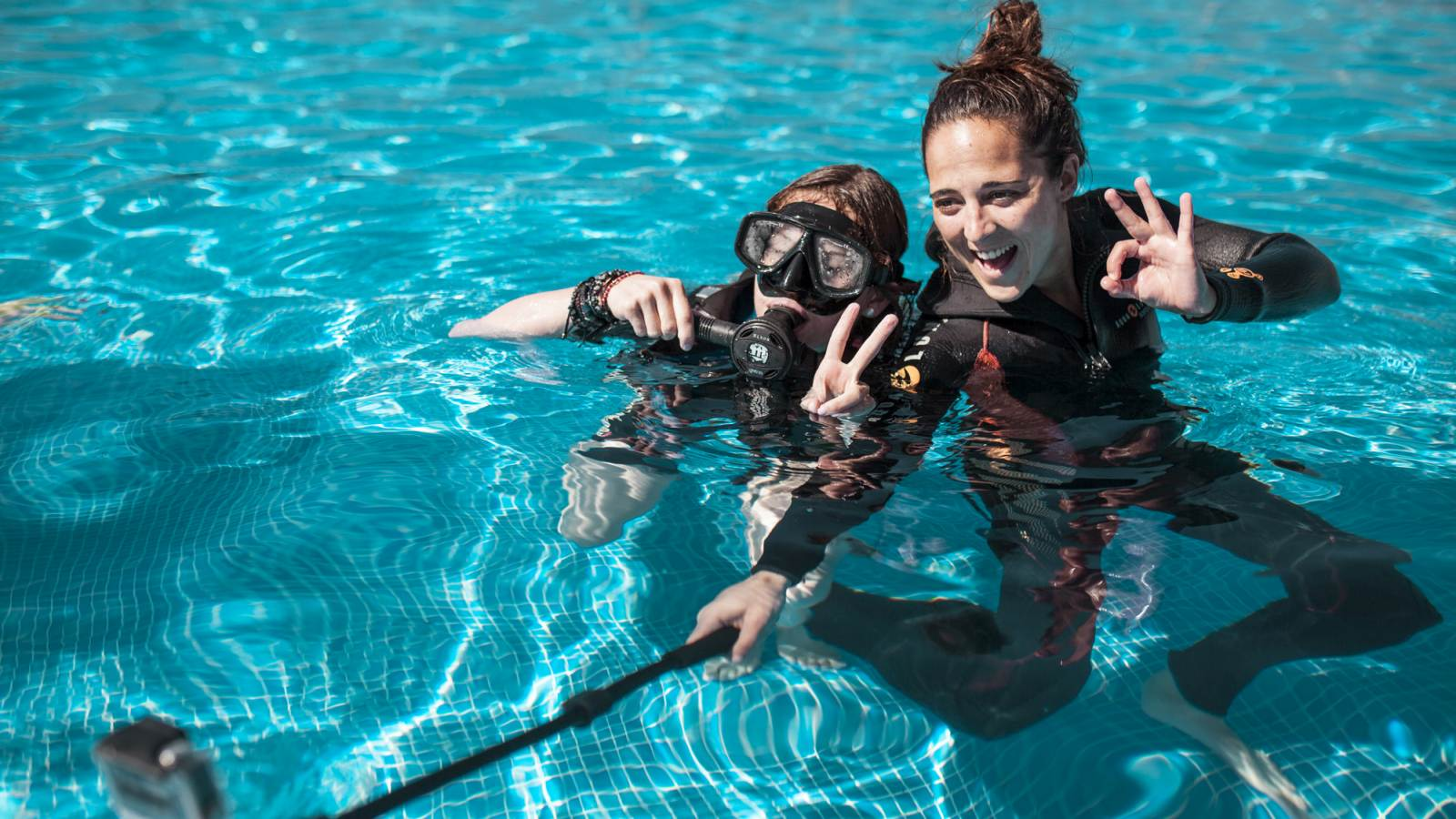Scuba diving family activities at Lé Meridien Ra