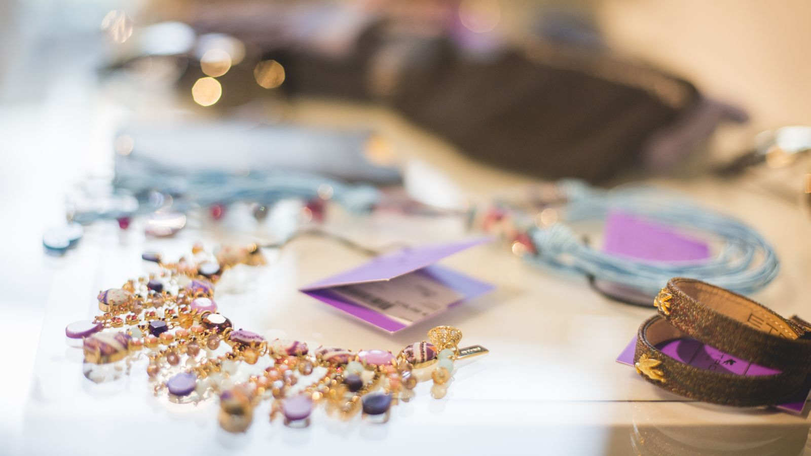 Fashion jewelry at Le Méridien Ra in our Fashion Boutique