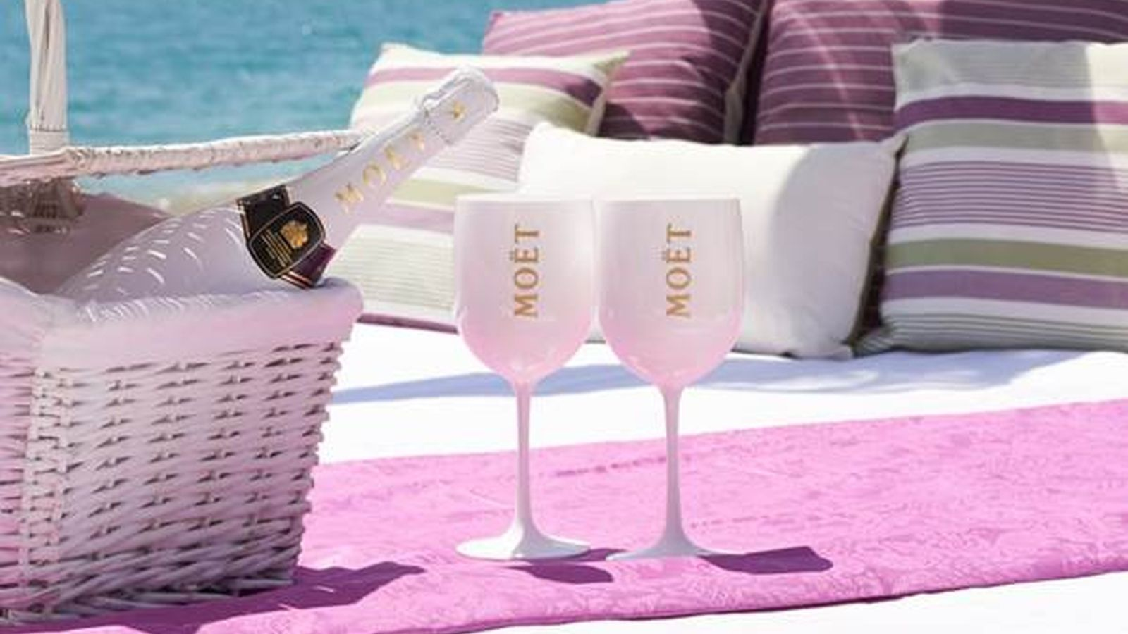 Moet & Chandon Ice в Beach Club