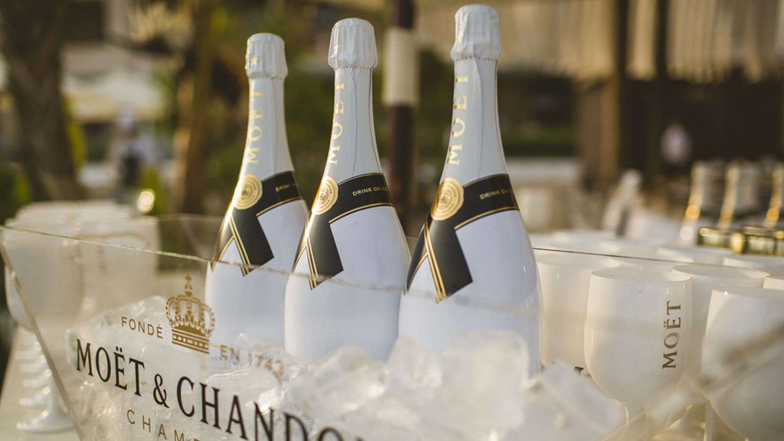 Moet & Chandon Ice au le Beach Club