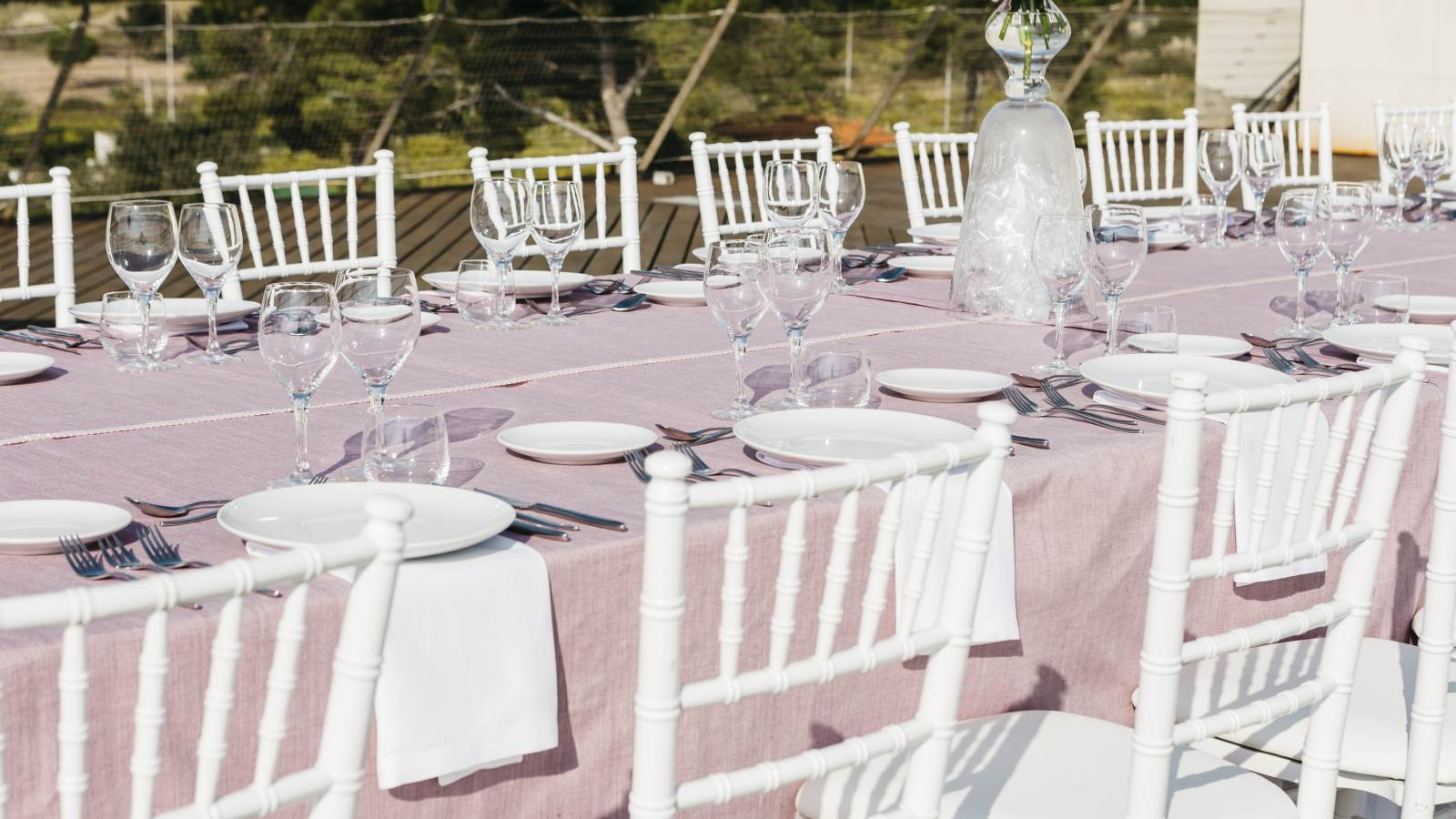 Outdoor wedding venues at Le Méridien Ra El Vendrell