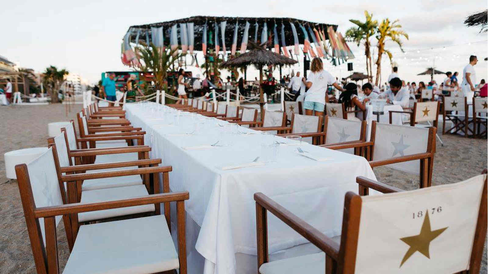 Parties and special events on the beach at Le Méridien Ra