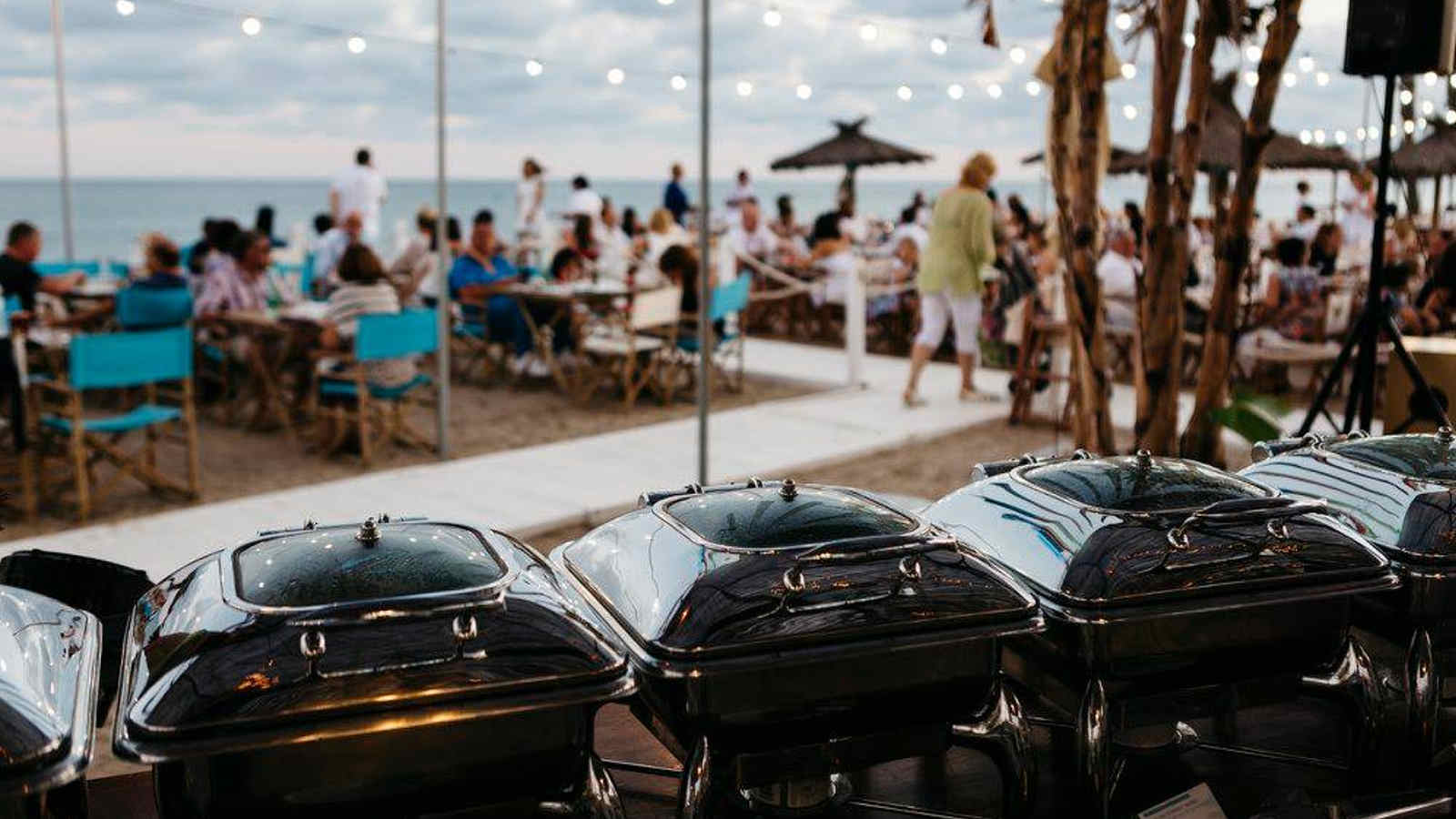 Summer parties and dinners at the Beach Club Le Méridien Ra
