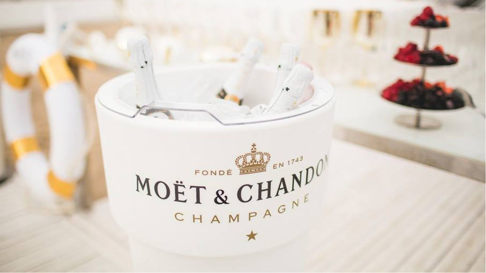 Parties with Moet Chandon at Le Méridien Ra