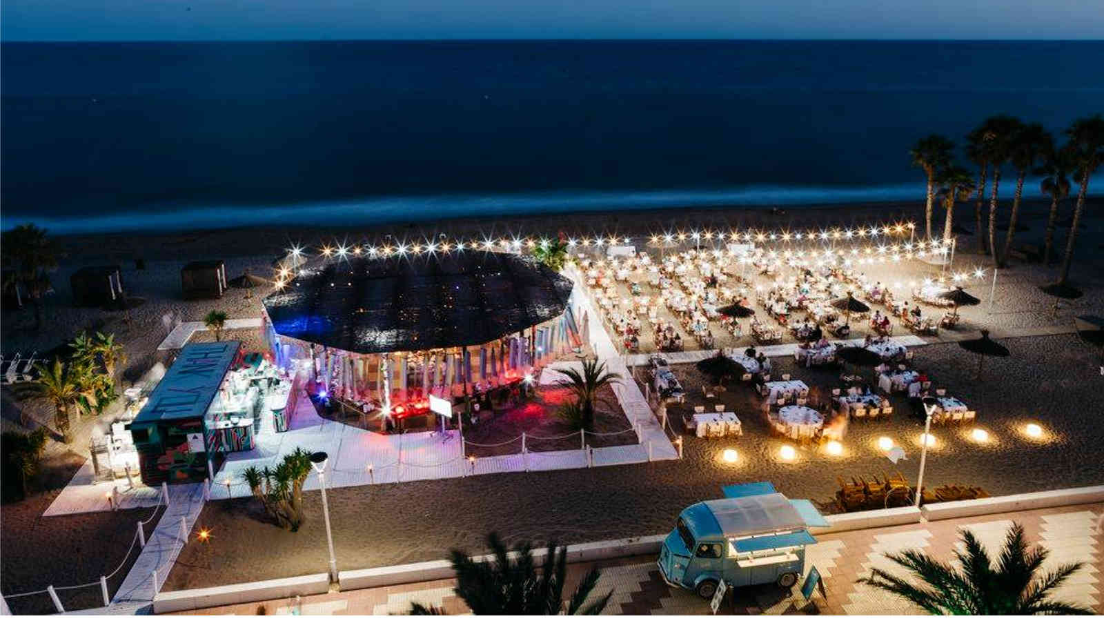 Parties and events at the Beach Club El Vendrell